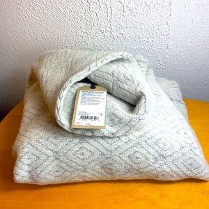 Prana 🐢Heather Grey Turtle Neck Pullover NWT
